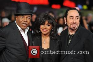 David Gest, Rebbie Jackson, Tito Jackson and Empire Leicester Square