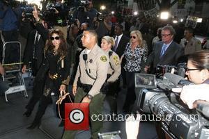 La Toya Jackson, Kathy Hilton and Rick Hilton