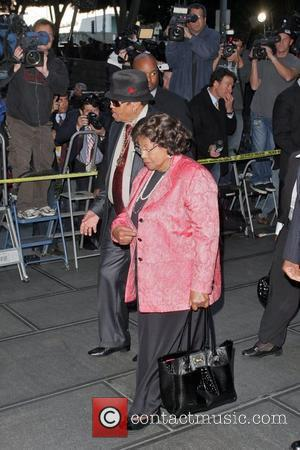 Joe Jackson and Katherine Jackson Arrivals at Los Angeles Superior Court for the verdict in the trial of Dr. Conrad...