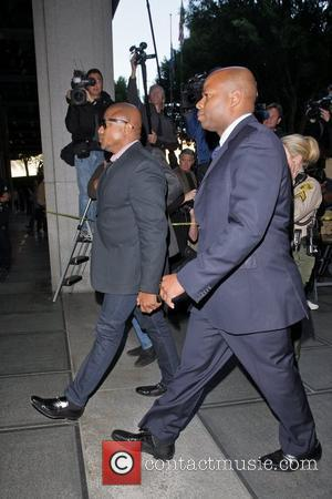 Randy Jackson Arrivals at Los Angeles Superior Court for the verdict in the trial of Dr. Conrad Murray on a...