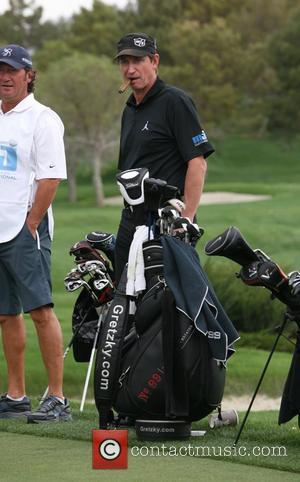 Wayne Gretzky Michael Jordan Celebrity Invitational Golf Tournament at Shadow Creek Golf Course Las Vegas, Nevada - 02.04.11