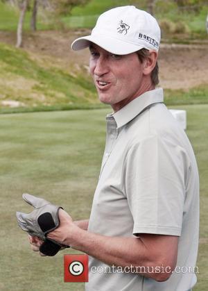 Wayne Gretzky Michael Jordan Celebrity Invitational Golf Tournament at Shadow Creek Golf Course  Las Vegas, Nevada - 03.04.11