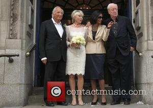Michael Winner, Geraldine Lynton-Edwards, Shakira Caine and Michael Caine The wedding of Geraldine Lynton-Edwards and Michael Winner held at Chelsea...