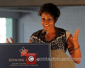 First Lady Michelle Obama appears at the Ford 400 at the Homestead Miami Speedway  Homestead, Florida - 20.11.11