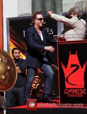 Mickey Rourke, Eric Roberts and Grauman's Chinese Theatre