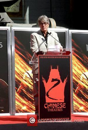Eric Roberts and Grauman's Chinese Theatre