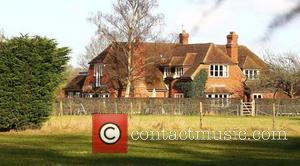 General views of Kate Middleton's family residence near the Berkshire village of Bucklebury.  Berkshire, England - 03.02.11