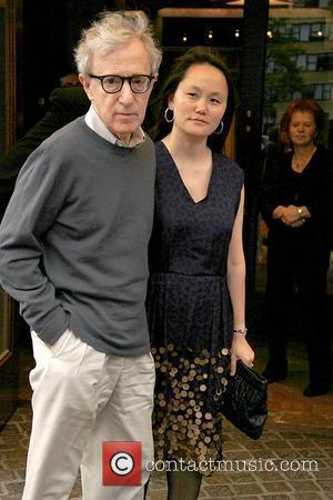 Woody Allen, Soon-Yi Previn  The screening of 'Midnight in Paris' at the Tribeca Grand Hotel New York City, USA...