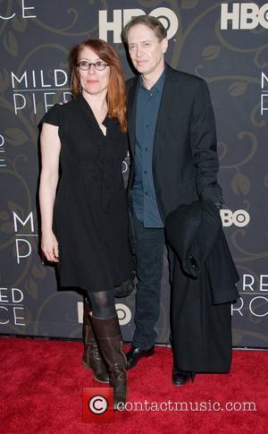 Steve Buscemi and his wife The New York Premiere of 'Mildred Pierce' - Arrivals New York City, USA - 21.03.11