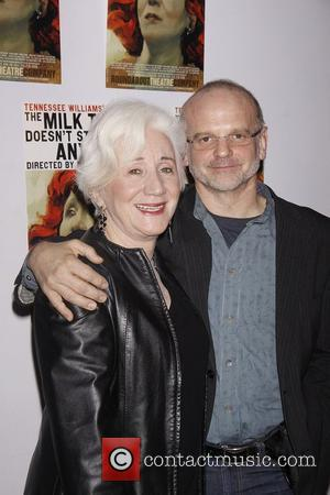 Olympia Dukakis and Michael Wilson  Opening night of the Roundabout Theatre Company production of 'The Milk Train Doesn't Stop...