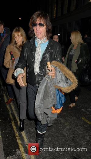 Jeff Beck,  at the Million Dollar Quartet - press night held at the Noel Coward Theatre - Departures. London,...