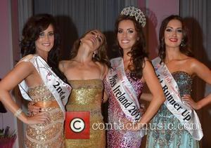 Aisling Alcock, Sophie Anderton, Holly Carpenter (Miss Ireland 2011) and Rebecca Maguire Holly Carpenter is crowned Miss Ireland 2011 at...