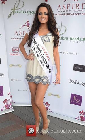 Faye Rooney (Miss North County Dublin)  Miss Ireland finalists 2011 unveiled at Buck Whaleys Dublin, Ireland – 12.07.11