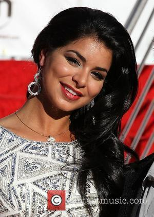2010 Miss USA Rima Fakih 2011 Miss USA Pageant contestants arrive at Planet Hollywood Resort and Casino  Las Vegas,...