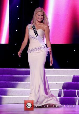 Miss New York USA Amber Collins  2011 Miss USA Preliminary Competition at The Theater of Performing Arts at Planet...