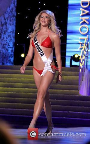 Miss North Dakota USA Brandi Schoenberg   2011 Miss USA Preliminary Competition at The Theater of Performing Arts at...
