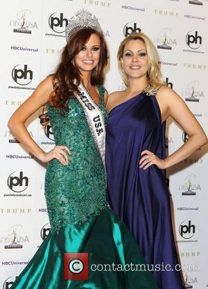 2011 Miss USA Alyssa Campanella and Shanna Moakler 2011 Miss USA Press Conference at Planet Hollywood Resort and Casino...