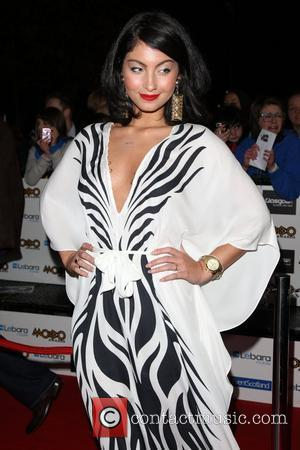 Yasmin Shahmir The MOBO Awards 2011 - Arrivals Glasgow, Scotland - 05.10.11