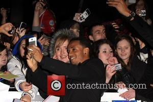 Aston Merrygold of JLS The MOBO Awards 2011 - Arrivals Glasgow, Scotland- 05.10.11