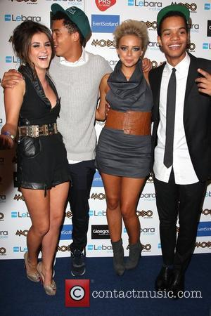 Brooke Vincent, Sacha Parkinson and Mobo