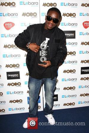 Tinchy Stryder The MOBO Awards 2011 - Press Room Glasgow, Scotland - 05.10.11
