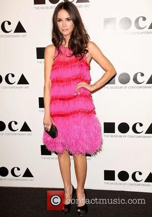 Abigail Spencer 2011 MOCA Gala: 'An Artist's Life Manifesto' directed by Marina Abramovic at MOCA Grand Avenue - Arrivals Los...