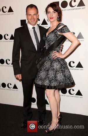 Jonny Lee Miller and Michele Hicks 2011 MOCA Gala: 'An Artist's Life Manifesto' directed by Marina Abramovic at MOCA Grand...