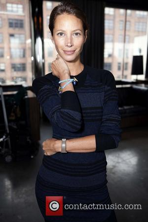 Christy Turlington Supermodels of the world unite for 'Modelinia Beautiful Friends Forever Bracelets' to benefit Save The Children, held at...