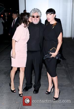 Elena Anaya, Pedro Almodovar and Rossy De Palma