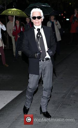 Karl Lagerfeld   The Museum of Modern Art Film Benefit 2011 - Outside Arrivals  New York City, USA...