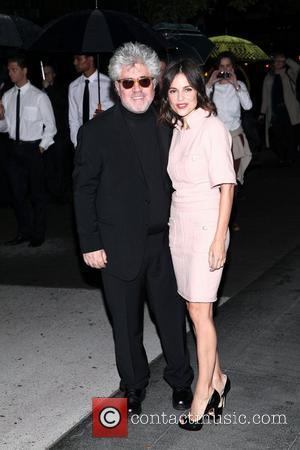 Pedro Almodovar and Elena Anaya