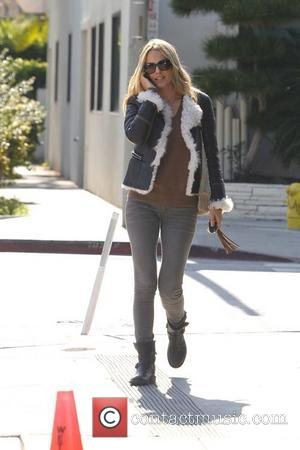 Actress Monet Mazur is seen outside Urth Caffe in Beverly Hills Los Angeles, California - 07.11.11
