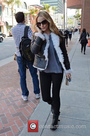 Monet Mazur out in Beverly Hills Los Angeles, California 08.11.11
