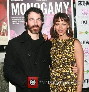 Chris Messina and Rashida Jones