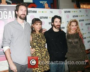 Dana Adam Shapiro, Chris Messina and Rashida Jones