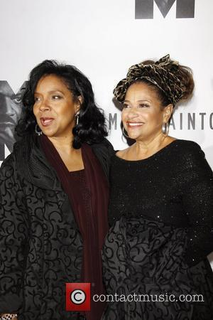Phylicia Rashad and Debbie Allen Opening night of the Broadway play 'The Mountaintop' at the Bernard B Jacobs Theatre -...