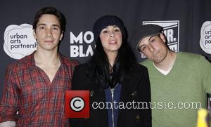 Justin Long, Jason Biggs and Sarah Silverman