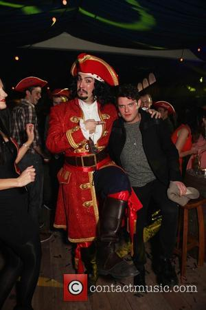 Mathew Horne The Captain Morgan's Spiced beach party held at Mercer Street Studios London, England - 19.10.11  This is...