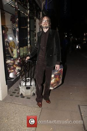 Jarvis Cocker ,  at the launch of The Mother of Pearl M.O.P SHOP at the Other Criteria store. London,...