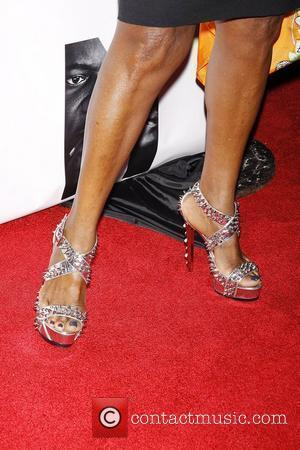 Pauletta Washington  Opening night of the Broadway play 'The Mountaintop' at the Bernard B Jacobs Theatre - Arrivals....