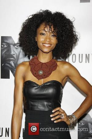 Yaya DaCosta  Opening night of the Broadway play 'The Mountaintop' at the Bernard B Jacobs Theatre - Arrivals....