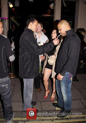 Mutya Buena outside Movida nightclub London, England - 02.02.11