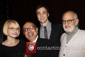 Ellen Barkin, George C Wolfe and Jim Parsons