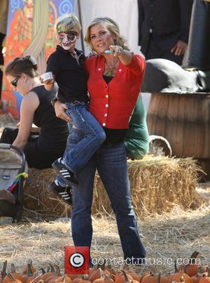 Alison Sweeney Celebrities attend the opening day at Mr. Bones Pumpkin Patch in West Hollywood Los Angeles, California - 08.10.11