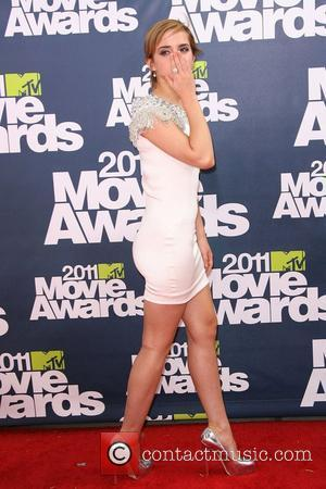 Emma Watson 2011 MTV Movie Awards - Arrival held at the Gibson Amphitheatre  Los Angeles, California - 05.06.11