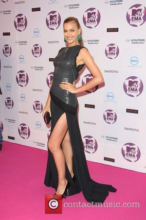 Irina Shayk and Mtv European Music Awards