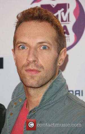 Chris Martin of Coldplay The MTV Europe Music Awards 2011 (EMAs) held at the Odyssey Arena - Arrivals Belfast, Northern...