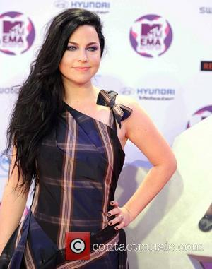 Amy Lee  The MTV Europe Music Awards 2011 (EMAs) held at the Odyssey Arena - Arrivals Belfast, Northern Ireland...