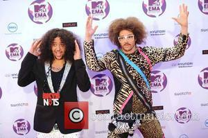 LMFAO  The MTV Europe Music Awards 2011 (EMAs) held at the Odyssey Arena - Arrivals Belfast, Northern Ireland -...