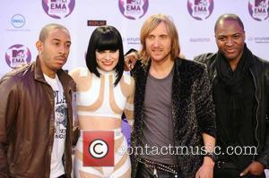 Ludacris, Jessie J, David Guetta, Taio Cruz  The MTV Europe Music Awards 2011 (EMAs) held at the Odyssey Arena...